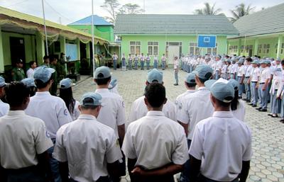 SMKN 2 Tanjung Selor, 10 Tahun Pinjam Gedung