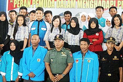 Sosialisasi Peran Pemuda mempertahankan NKRI