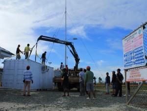 Proses Penarikan Kontainer yang dilakukan oleh Sub kontraktor PT.MKI